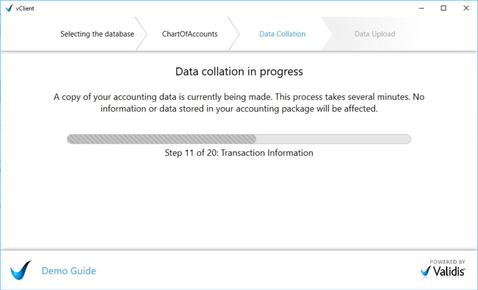 Uploading your Sage 50 / Sage 50c UK data – Validis DataShare Support