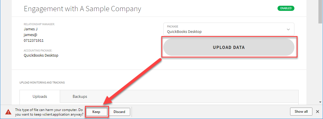 Uploading your QuickBooks Desktop data – Validis DataShare